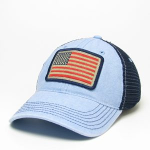 American Flag – Light Blue