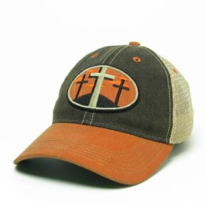 3 Crosses Trucker – Orange