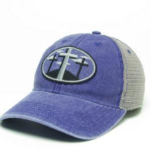 3 crosses – purple-gray